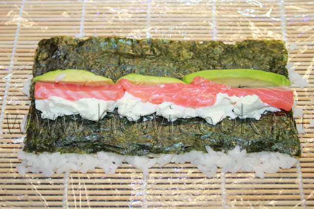 рецепт суши с черной икрой с пошаговыми фото