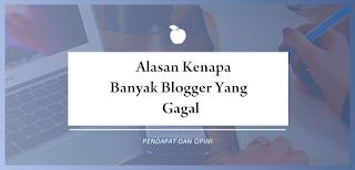 gagal menjadi blogger