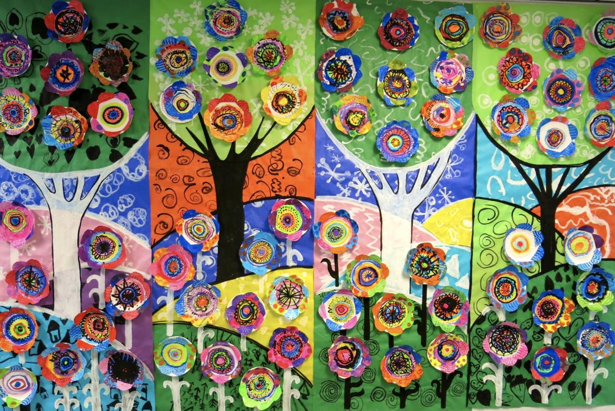 Beas School Art Projects