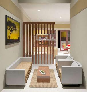 Desain Sekat Ruangan Minimalis Modern