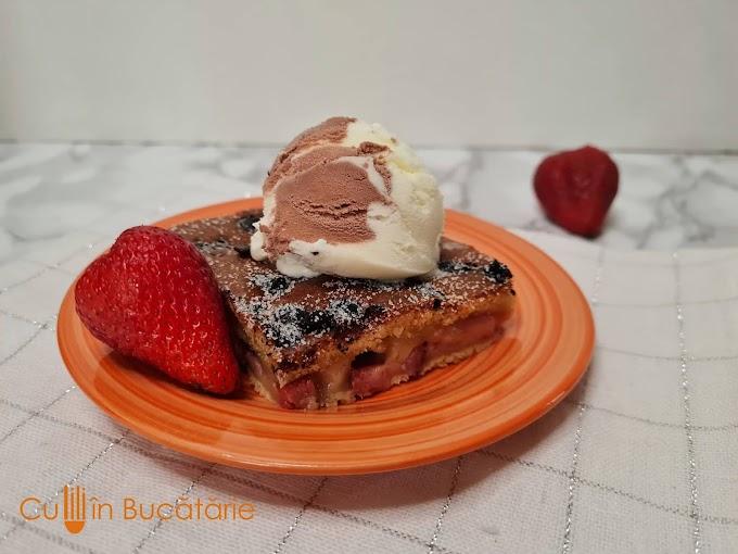 Prăjitură dietetică cu căpșuni