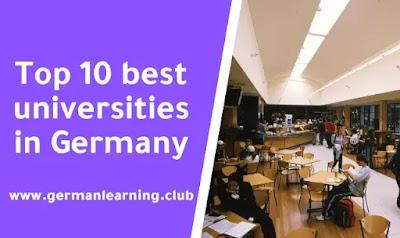 Top 10 best universities in Germany