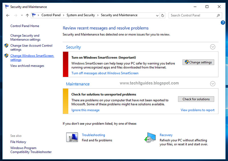 how to turn off windows smartscreen in windows 10