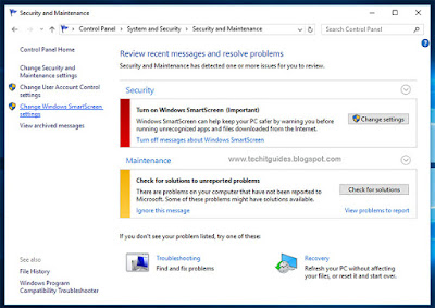 Steps to Change Windows SmartScreen Settings