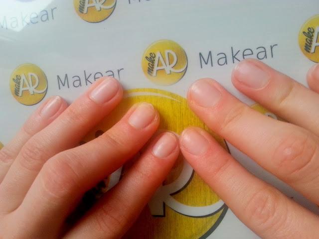 paznokcie przed manicure