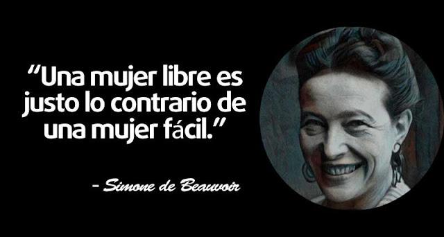 30 frases de Simone de Beauvoir para conocer su filosofía