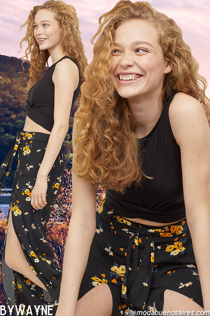 Tops primavera verano 2020 moda mujer.
