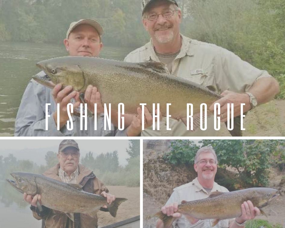 Rogue river fishing guides fishing trips for salmon and for Southern oregon fishing report