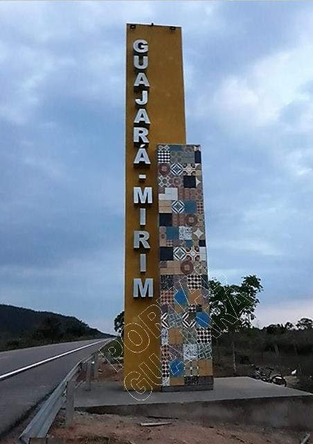 Portal na entrada da cidade de Guajará Mirim