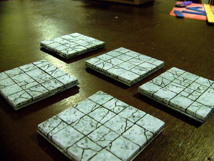 large modular dungeon tiles