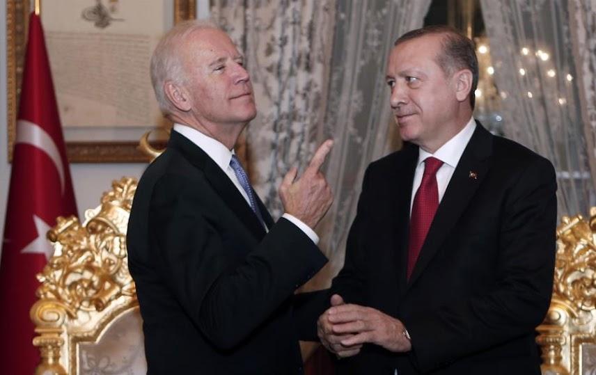 Ο Γολγοθάς των σχέσεων Μπάιντεν - Ερντογάν