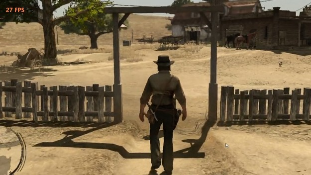 The first Red Dead Redemption is approaching a playable state on the PC