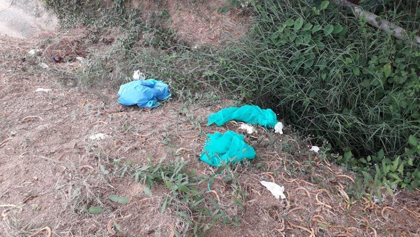 Residuos hospitalarios son arrojados en Vía al Mar