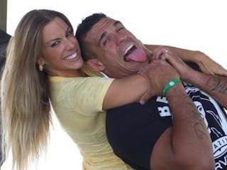 Vitor Belfort And Joana Prado