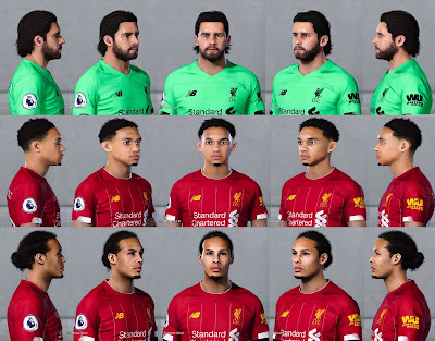 PES 2021 Facepack Liverpool FC by Christian Jr