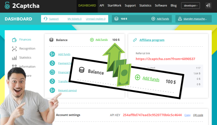 شرح الربح من موقع 2captcha مع اثبات الدفع 2020