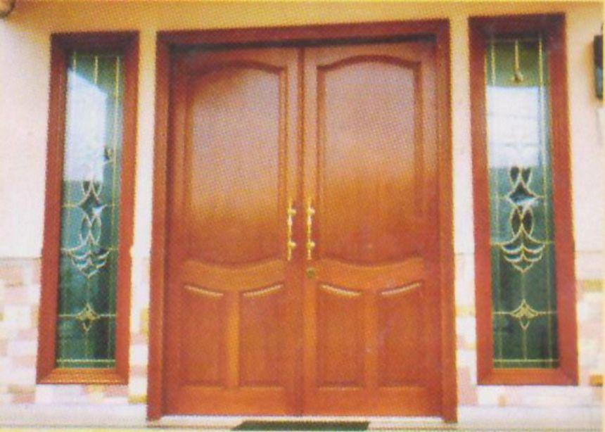 pintu kupu tarung sederhana 1