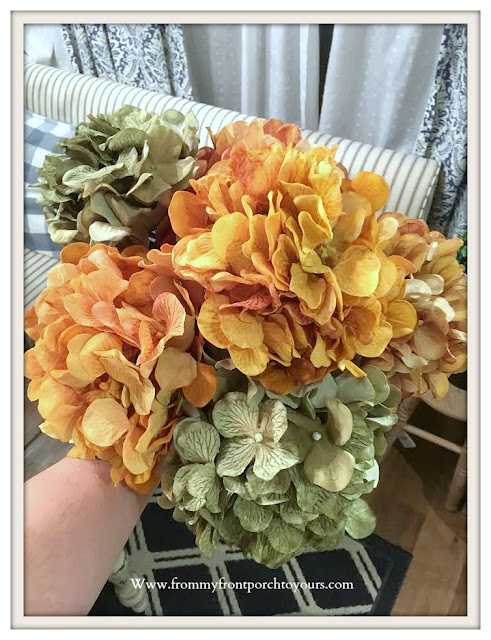 Fall- Hydrangea- Stems-Fall-Decor-From My Front Porch To Yours