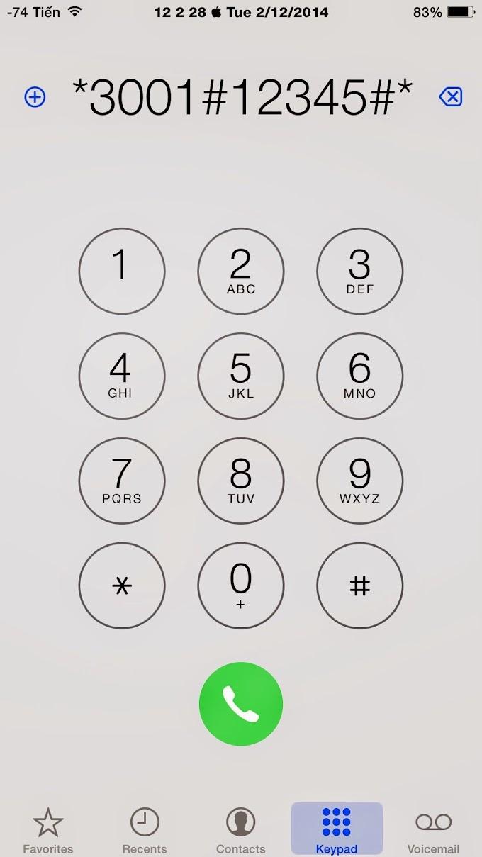 Cách kiểm tra sóng của iPhone mạnh hay yếu mà không cần jailbreak.