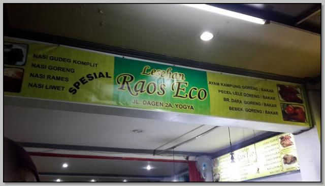 Tempat Makan Lesehan Enak Di Jogja – Lesehan Raos Eco Pilihan Menikmati Malam