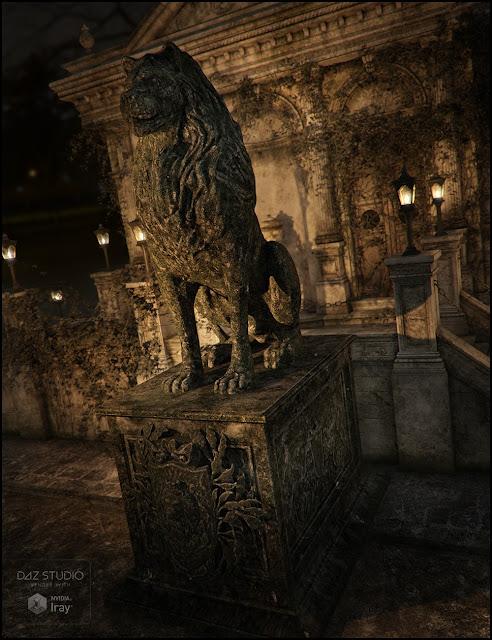 Aslan Statues