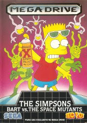 Rom de The Simpsons: Bart vs Space Mutants - Mega Drive - PT-BR