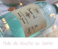 huile de douche jasmin Sabon