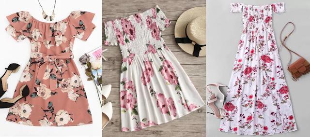 onde comprar vestidos, lojas da china, zaful, vestidos ombro a ombro, vestidos baratos, moda, dicas de moda