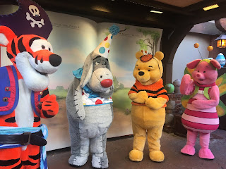 Winnie the Pooh and Friends at Mickey's Not So Scary Halloween Party
