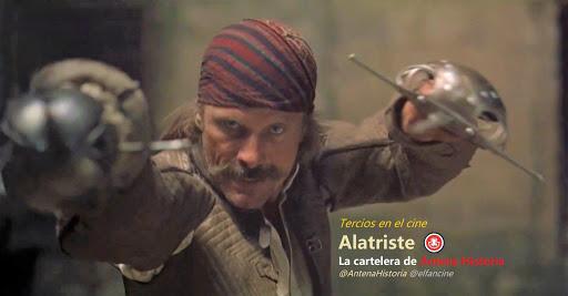 Alatriste en Antena Historia
