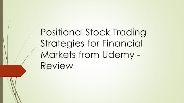 Positional Stock Trading Strategies for Financial Markets from Udemy - Review, elliot waves strategy, stock market course, trading course based on elliot waves