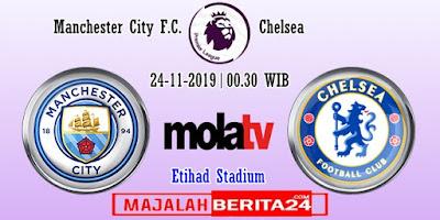 Prediksi Manchester City vs Chelsea — 24 November 2019