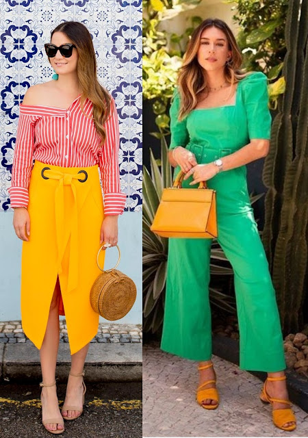 12 Looks coloridos para se inspirar, Jenn Lake