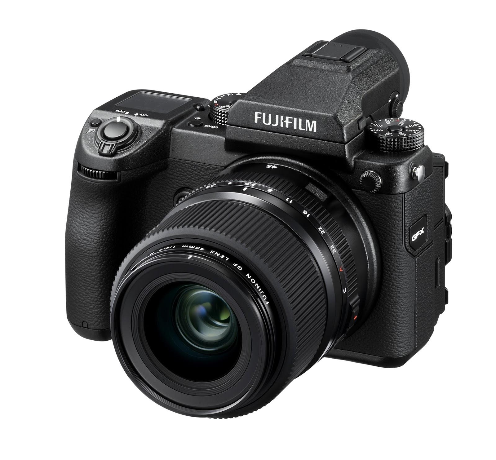 Камера Fujifilm GFX 50s и объектив Fujinon GF 45mm f/2.8 R WR