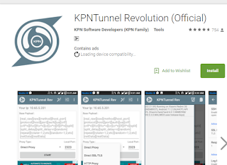 Cara Setting KPN Tunnel Revolution