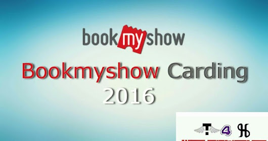 Bookmyshow Carding Method 2016