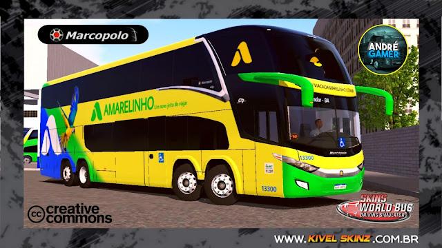 PARADISO G7 1800 DD 8X2 - VIAÇÃO AMARELINHO
