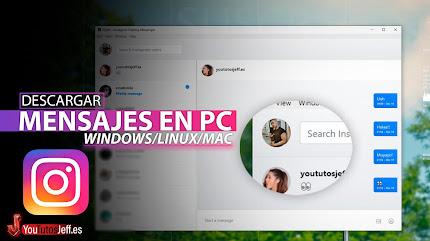 Como Ver Mensajes de Instagram en PC 2021