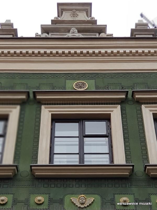 Warszawa Warsaw Stare Miasto ulice Starego Miasta kamienica architektura kamieniczki Old Town pod Chrystusem