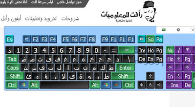 مميزات لوحة المفاتيح الكمبيوتر