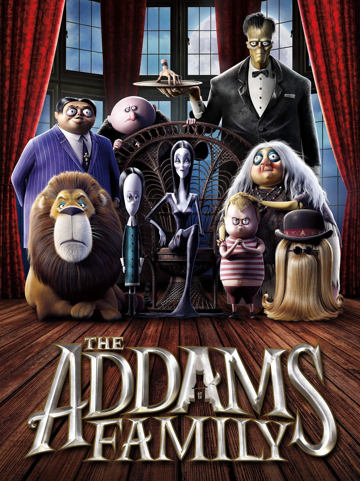 The Addams Family [2019] [DVDR] [NTSC] [Latino]