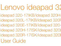 Lenovo IdeaPad 320 User Manual