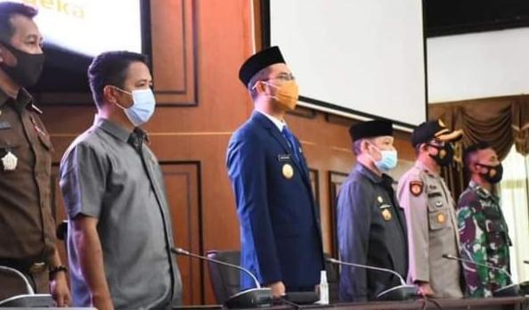 Wakil Ketua II DPRD Hadiri Pelantikan Pejabat Lingkup Pemkab Sinjai
