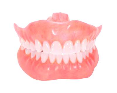 Complete dentures image