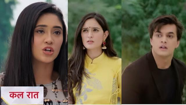 Big Twist :  Vedika refuses to settle back challenges Kartik-Naira in Yeh Rishta Kya Kehlata Hai
