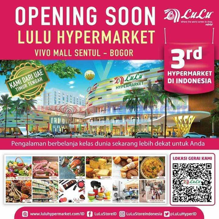 Promo LULU Hypermarket Vivo Mall Sentul Bogor Outlet Ke3 Opening