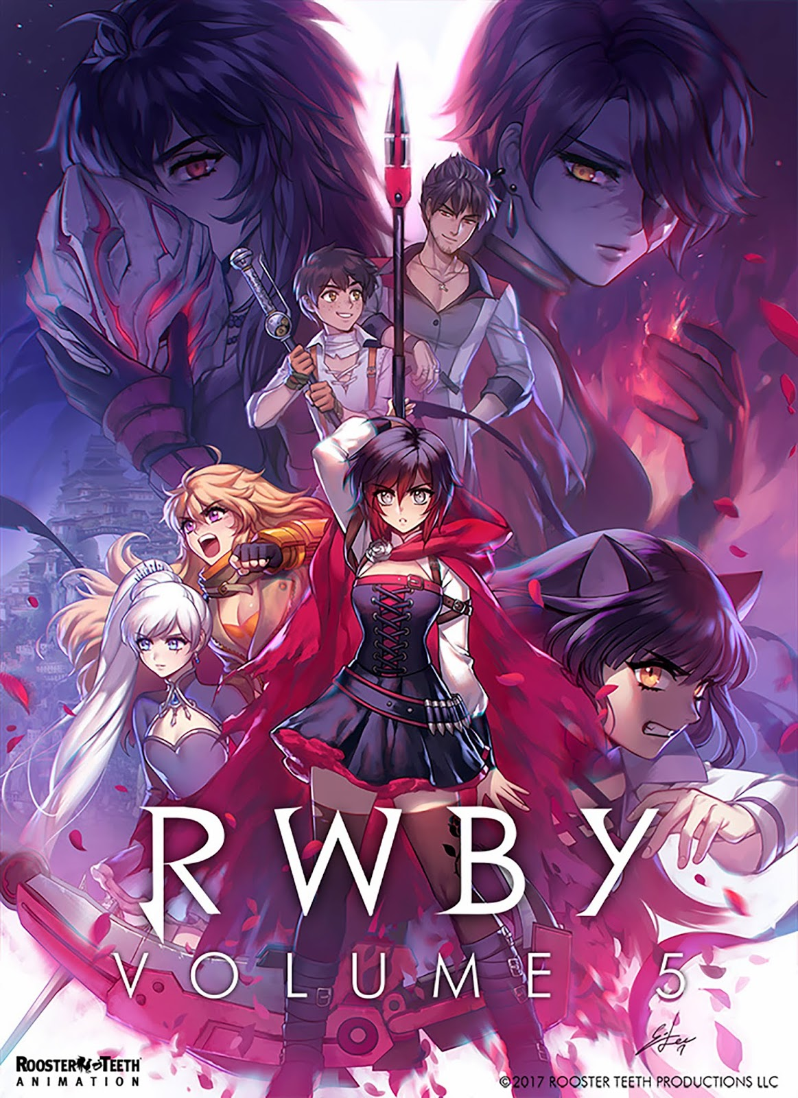 RWBY 5 -Red White Black Yellow Ss5