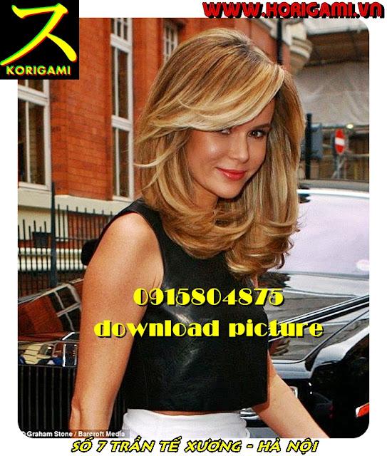 Cắt tóc cho bạn gái Tây là phụ nữ phải xinh đẹp - Korigami 0915804875