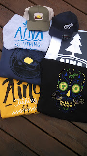 Aina Clothing 4th July Sale 25% off organic cotton graphic tshirts, hoodies, hats