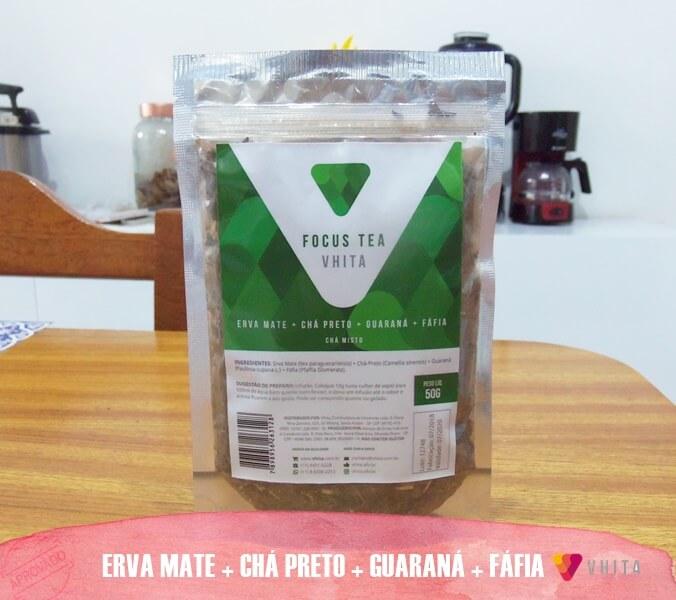 Mais disposição e energia com o chá misto Vhita